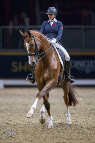 Brittany Fraser-Beaulieu of Ottawa, ON, riding All In. Photo by Ben Radvanyi Photography (CNW Group/Royal ...