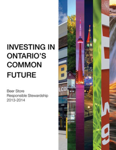 Investing in Ontario's Common Future (CNW Group/The Beer Store)