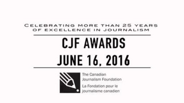 Video: View the highlights of the CJF Awards, the annual celebration of excellence in journalism.