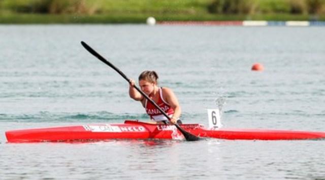 Erica Scarff, de Toronto, en Ontario, sera nommée pour la sélection dans Équipe Canada alors que le sport de paracanoë fait ses débuts aux Jeux paralympiques de Rio 2016. (Groupe CNW/Comité paralympique canadien (CPC))