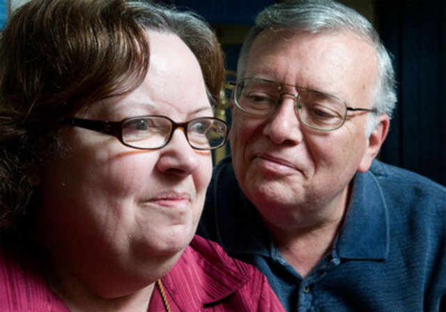 From dementia to diagnosis: a couple's cautionary tale. (CNW Group/Alzheimer Society)