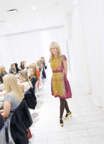 New York based Designer Nanette Lepore visits Holt Renfrew in Calgary for the first time to show her Fall and Holiday 2012 collections on September 20, 2012. (CNW Group/Holt Renfrew)/Holt Renfrew) (CNW Group/Holt Renfrew) (CNW Group/Holt Renfrew)