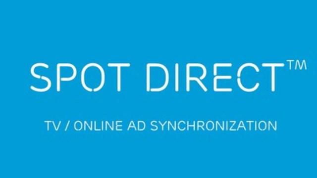 Spot Direct™ TV/Online Ad Synchronization by TMT LAB (CNW Group/TMT LAB Inc.)