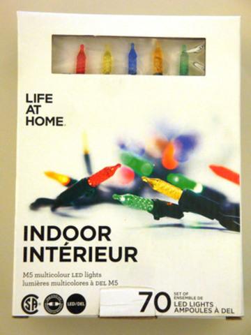 Lumières d'intérieur multicolores à DEL M5 Life at Home (Groupe CNW/Les Compagnies Loblaw limitée)