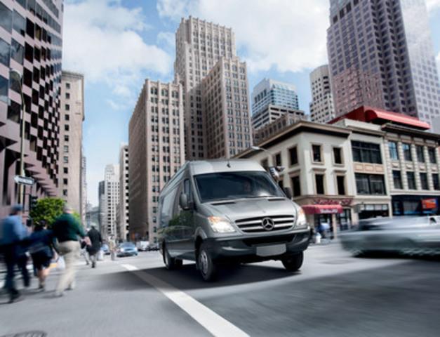 Pour la quatrième année consécutive, un rapport détaillé montre que le Sprinter Mercedes-Benz continue à offrir le coût total de possession le plus bas de sa catégorie au Canada. (Groupe CNW/Mercedes-Benz Canada Inc.)
