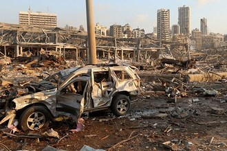 """Global Bank's President Ron Nechemia Offers Humanitarian and Developmental Assistance to Lebanon in Response to the Deadly Explosion - """"We share the pain and sorrows of the Lebanese people"""""""