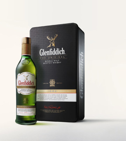 Inspired by the pioneering spirit of William Grant's great grandson, Sandy Grant Gordon, Glenfiddich(R) 'The Original' is a recreation of the original 1963 Glenfiddich(R) Straight Malt that started the single malt category. (CNW Group/Glenfiddich Single Malt Scotch Whisky)