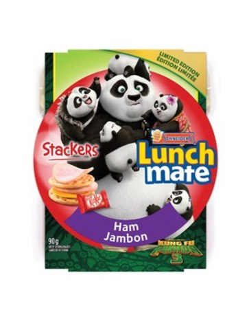 Limited edition lunch kits features characters from the DreamWorks animation film KungFu Panda 3 (CNW ...