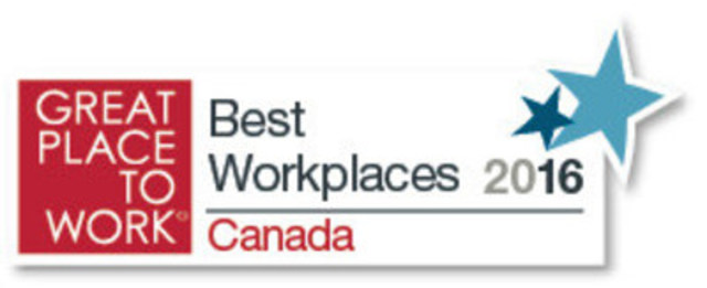 Corby Spirit and Wine ranks 22nd on the annual Great Place to Work list. (CNW Group/Corby Spirit and Wine Communications)