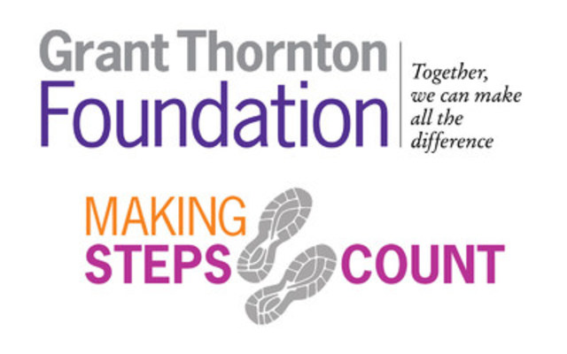 Grant Thornton Foundation - Making Steps Count (CNW Group/Grant Thornton LLP)