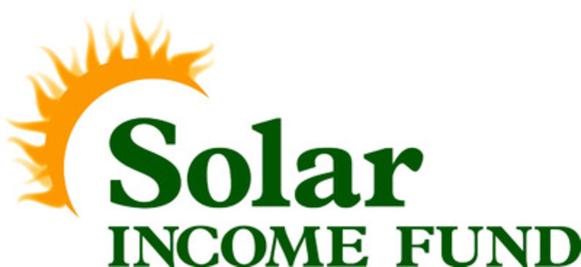 Solar Income Fund (CNW Group/Solar Income Fund Inc.)
