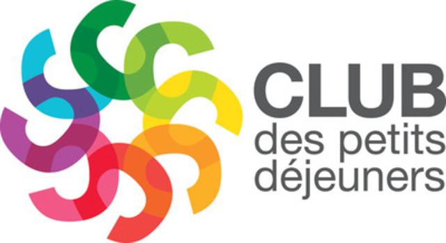 Jean-Luc Mongrain et Daniel Germain invitent Hiboulot au Club des petits déjeuners - 15e édition de la collection de la tasse signée Jean-Luc Mongrain (Groupe CNW/Club des petits déjeuners)