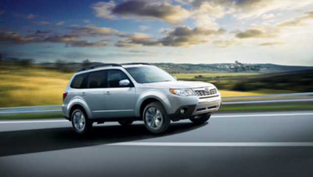 Subaru Forester groupe Limited 2013 (Groupe CNW/Subaru Canada Inc.)