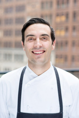 Tyler Shedden takes the helm as Culinary Director at Chase Hospitality Group. (CNW Group/Chase Hospitality Group)