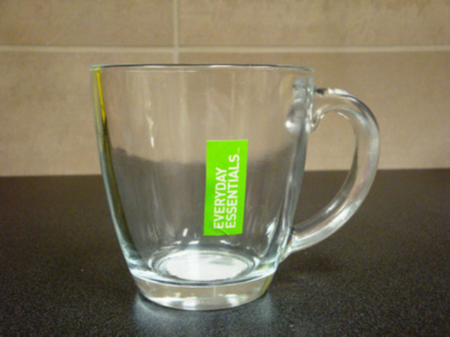 Everyday Essentials Glass Mug (CNW Group/Loblaw Companies Limited)