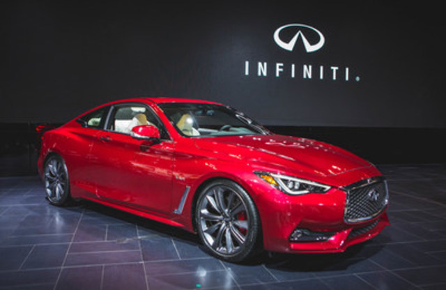 Today Infiniti Canada unveiled the all-new 2017 Infiniti Q60 sports coupe in Toronto at the Canadian International Auto Show. To access additional photos, please visit InfinitiNews.com. (CNW Group/Infiniti)