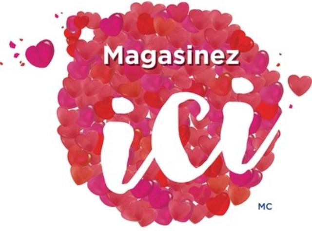 Magasinezici(MC) pour la Saint-Valentin (Groupe CNW/Conseil canadien du commerce de détail)