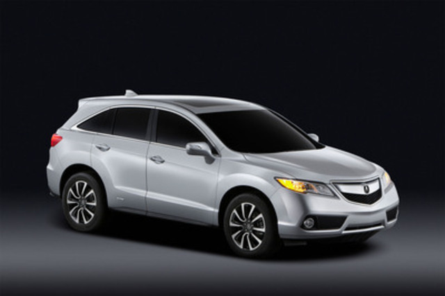 Shown as a prototype version of the 2013 RDX, the second generation of Acura's five-passenger crossover SUV will up the ante with a new approach to achieving both advanced performance and fuel efficiency. With a new engine, transmission and all-wheel drive system, the 2013 RDX will go on sale in Canada this spring. (CNW Group/Honda Canada Inc.)