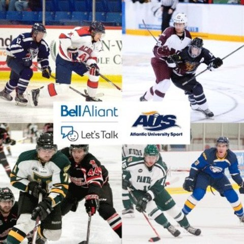 Atlantic University Sport (AUS) and Bell Aliant team up for mental health. (CNW Group/Atlantic University Sport (AUS))