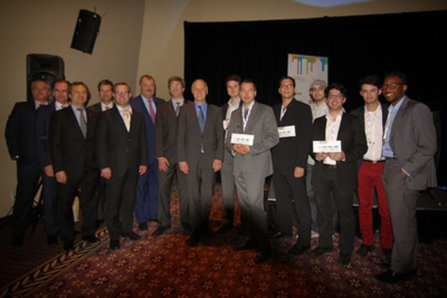 Finance Montréal offered $50,000 in prize money to the winners of its five contests (CNW Group/Finance Montréal)
