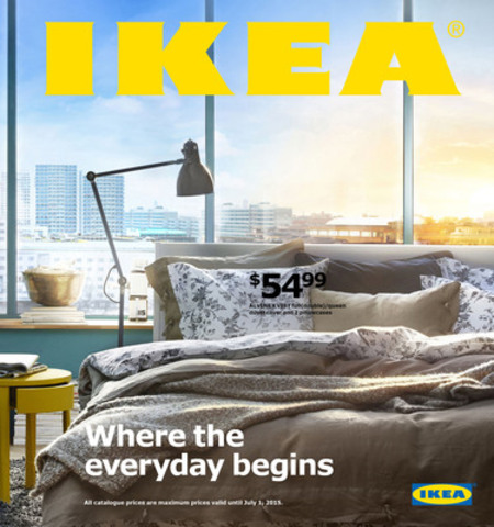 2015 English IKEA Catalogue Cover (CNW Group/IKEA Canada)