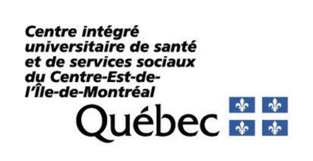 Logo CIUSSS du Centre-Est-de-l'Île-de-Montréal (Groupe CNW/Centre intégré universitaire de santé et de services sociaux du Centre-Est-de-l'Île de Montréal (CIUSSS))