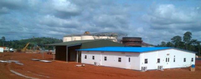 Laboratory (CNW Group/Endeavour Mining Corporation)