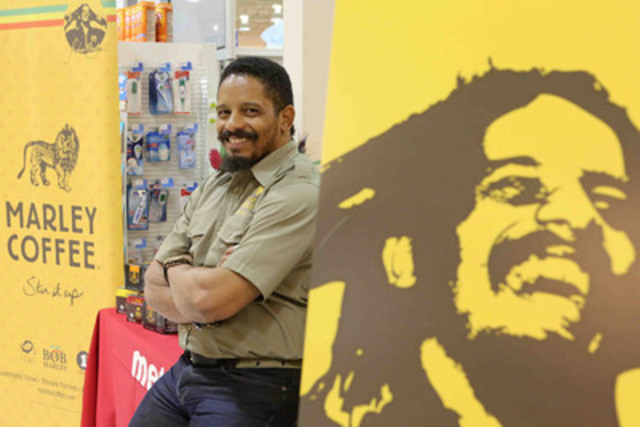 Rohan Marley, son of legendary musician Bob Marley, made appearances in Toronto, including Metro, to promote his coffee label, Marley Coffee.