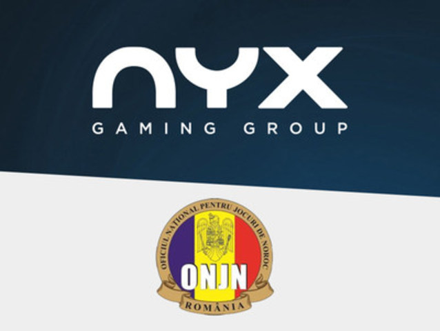 NYX secures Romanian license to further expansion into emerging regulated European markets (CNW Group/NYX Gaming Group Limited)