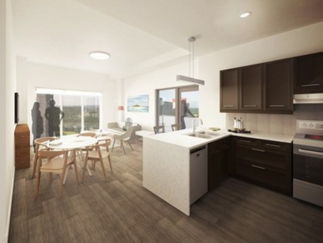 Thoughtful planning and quality finishes define The Oliver's studio, one, and two bedroom apartments. ...