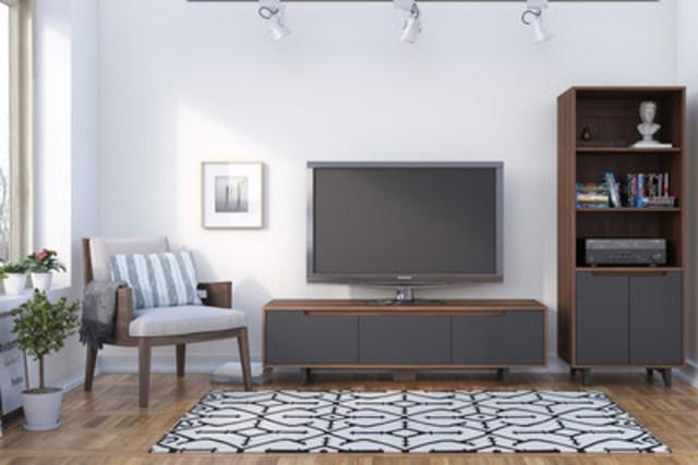 La collection Karibou, une nouveauté fabriquée au Québec disponible chez Meuble2go.com (Groupe CNW/Meuble2go.com)