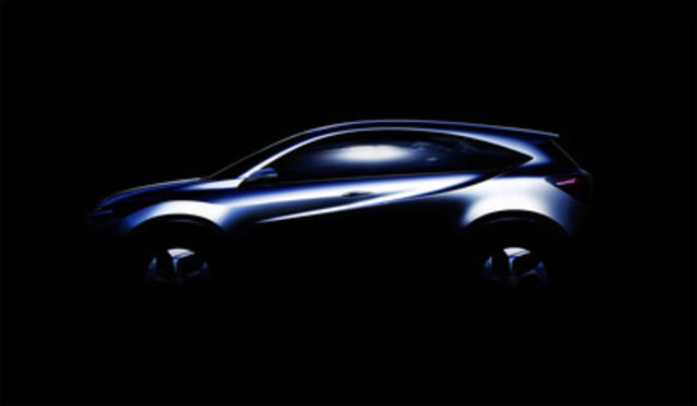 "The Honda compact ""Urban SUV Concept"" is a global concept model combining a sporty and dynamic SUV profile with a spacious, functional interior. The concept will be introduced during Honda's NAIAS press conference in January 2013. (CNW Group/Honda Canada Inc.)"
