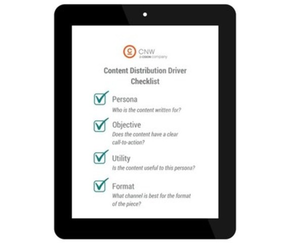 Content Distribution Driver Checklist (CNW Group/CNW Group Ltd.)