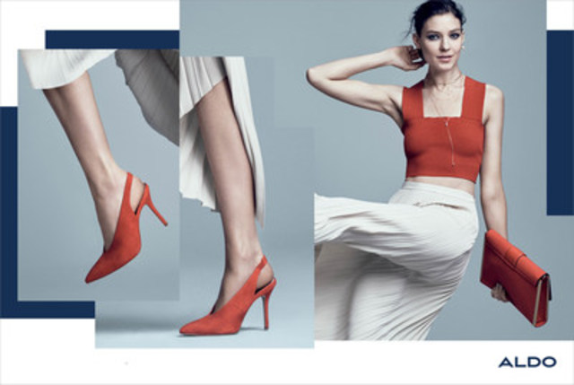 ALDO builds momentum with its inspired Fall 2016 campaign #ALDOMOVESME (CNW Group/ALDO Group)