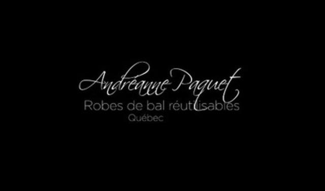 Video: Andréanne Paquet, Robes de bal réutilisables