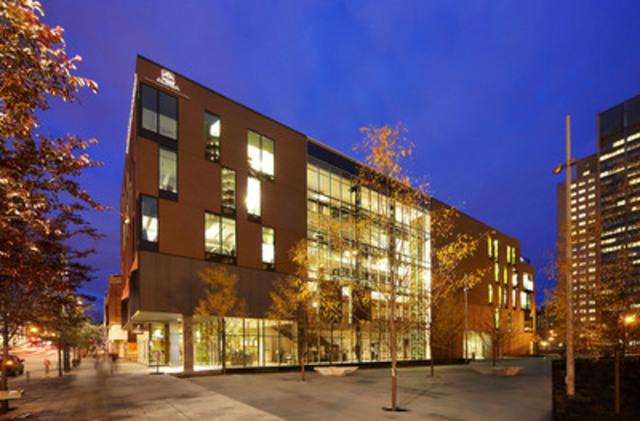 Maison du développement durable, bâtiment Équiterre. (Groupe CNW/ROCHE LTEE, GROUPE-CONSEIL)
