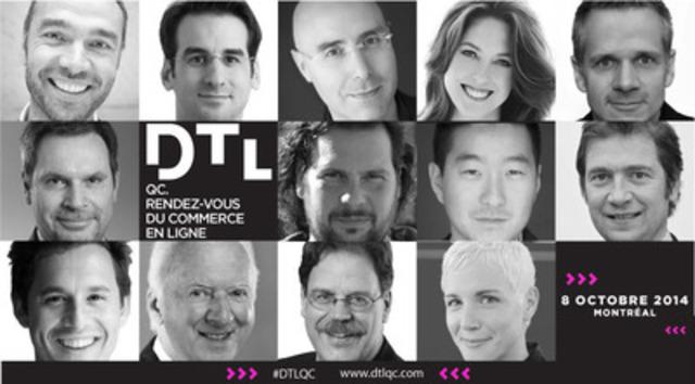 La programmation complète de DTLQC. Rendez-vous du commerce en ligne, le premier évènement du Conseil canadien du commerce de détail au Québec, vient tout juste d'être annoncée! (Groupe CNW/Conseil canadien du commerce de détail)