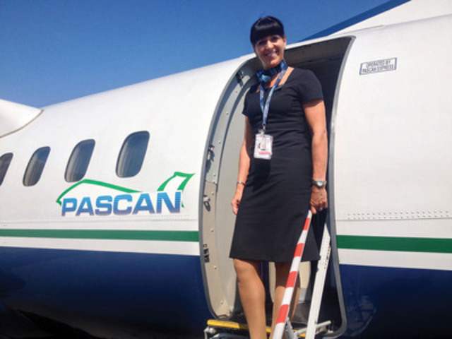 Pascan now offers a direct flight Moncton, NB to St.John's, N-L. (CNW Group/Pascan Aviation inc.)