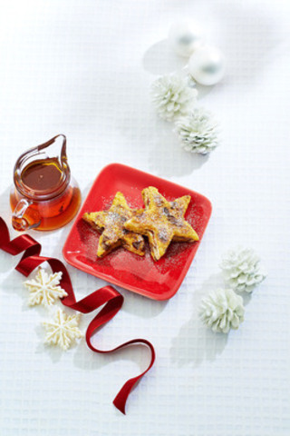 New for 2013: Sun-Maid® signature holiday brunch recipe Starry Morning Raisin French Toast. (CNW Group/Sun-Maid)