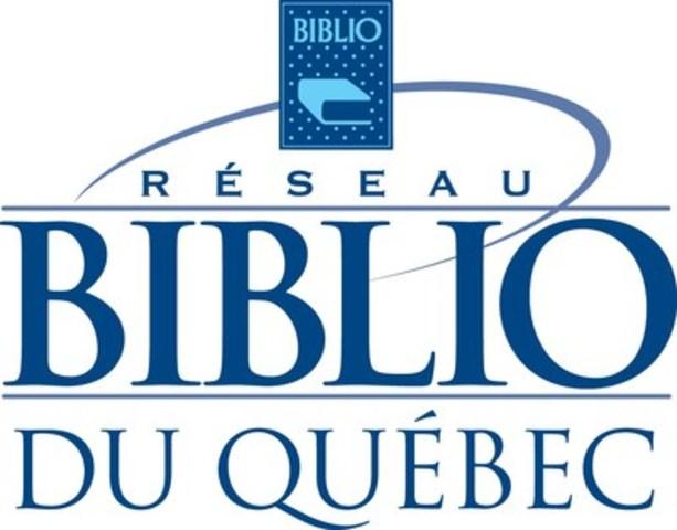 Logo : Réseau BIBLIO du Québec (Groupe CNW/Réseau BIBLIO du Québec)