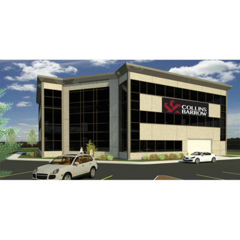 Collins Barrow Red Deer's new office in Gasoline Alley (CNW Group/Collins Barrow National Cooperative Incorporated)