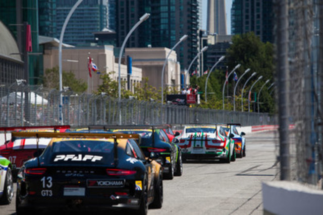 The 2016 Ultra 94 Porsche GT3 Cup Challenge Canada by Yokohama continued this past weekend with Rounds 7 and 8 taking place at Toronto Indy. (CNW Group/Porsche Cars Canada)
