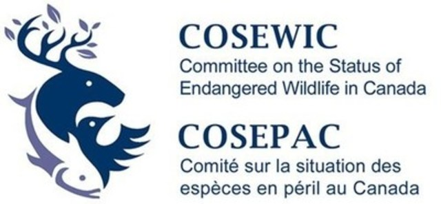 Logo: COSEPAC (CNW Group/Committee on the Status of Endangered Wildlife in Canada) (Groupe CNW/Comité sur la situation des espèces en péril au Canada)