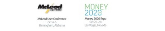 McLeod User Conference: Oct 4-6, Birmingham, Alabama; Money2020 Expo: Oct 25-28, Las Vegas, Nevada (CNW Group/VersaPay Corporation)