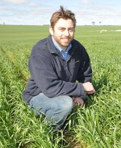 Jason Reinheimer PhD, Senior Breeder, Limagrain Cereals Research Canada (CNW Group/Limagrain Cereals Research Canada)