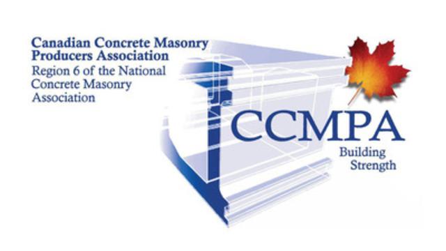 Canadian Concrete Masonry Producers Association (CNW Group/Canadian Concrete Masonry Producers Association)