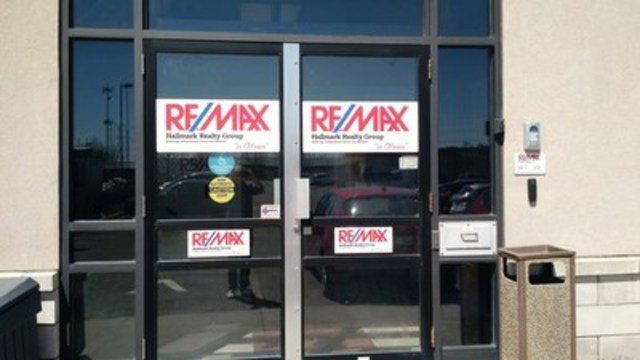 "RE/MAX Hallmark Realty Group ""in Ottawa"" (CNW Group/RE/MAX INTEGRA, Ontario-Atlantic Canada)"