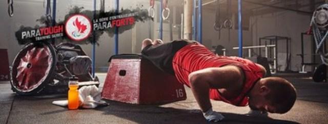 Le joueur de rugby en fauteuil roulant Zak Madell fait parti de la Série d'entraînements ParaForts, la toute première série d'entraînements présentée entièrement par des paralympiens. Crédit : CPC/Tyler Gray/John Stevancec/Westside Studio (Groupe CNW/Comité paralympique canadien (CPC))