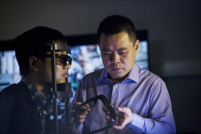 Professor Zhou Wang is the recipient of an E.W.R Steacie Memorial Fellowship for his work in understanding how people view the quality of images and videos. (Photo credit: NSERC) (CNW Group/University of Waterloo)