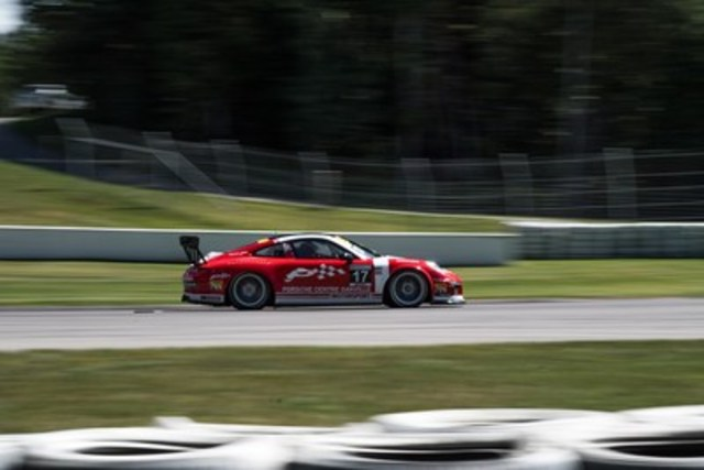 Daniel Morad finished Rounds 11 and 12 of the 2016 Ultra 94 Porsche GT3 Cup Challenge Canada by Yokohama in second and fifth place finish respectively. (CNW Group/Porsche Cars Canada)